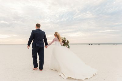 Bride and Groom Best Florida Sunset Weddings