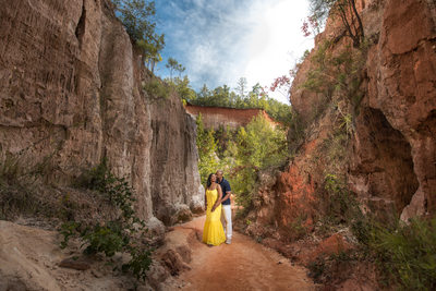 Providence Canyon Engagement