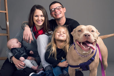 Pensacola Family Portraits with Pets