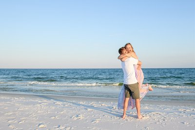 Pensacola Beach Proposal Photographer