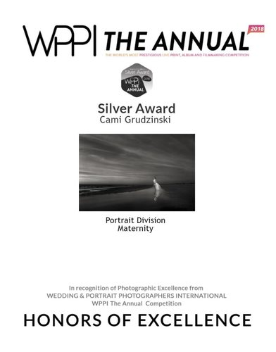 Maternity Photography Silver Award - WPPI