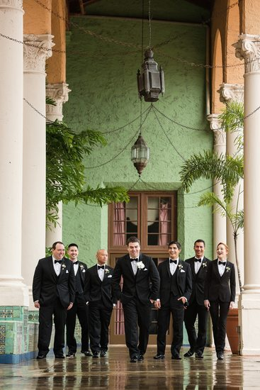 Groomsmen at Biltmore Wedding