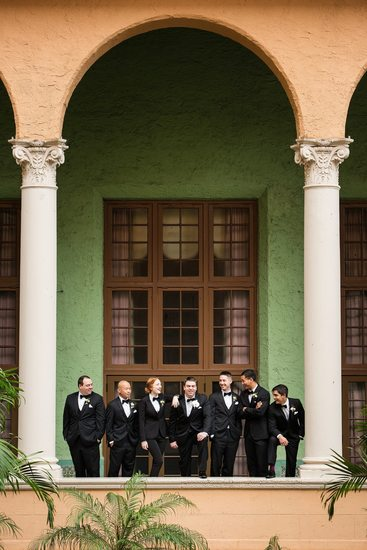 Groomsmen at Biltmore