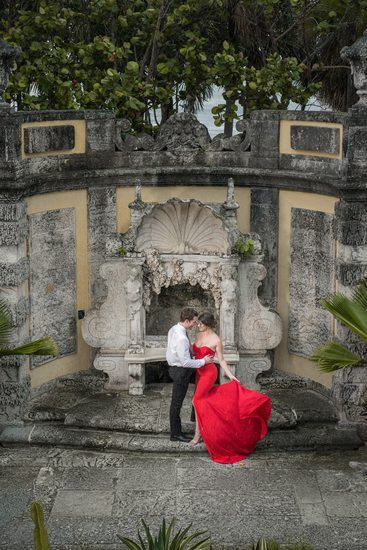 Engagement Session at Vizcaya