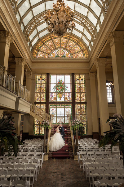 The Ballroom at Church Street Wedding Portrait