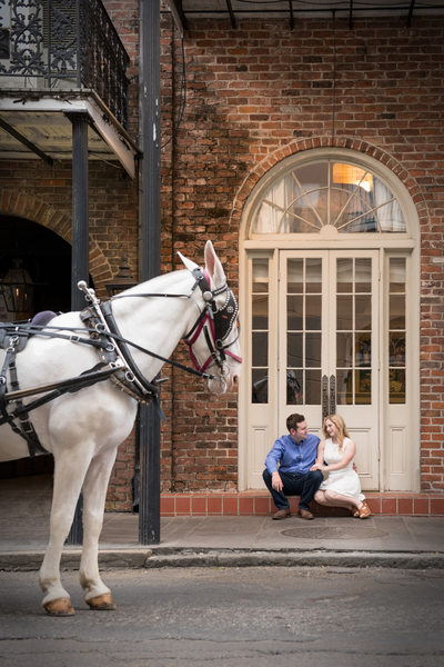 French Quarter Engagement Photographer