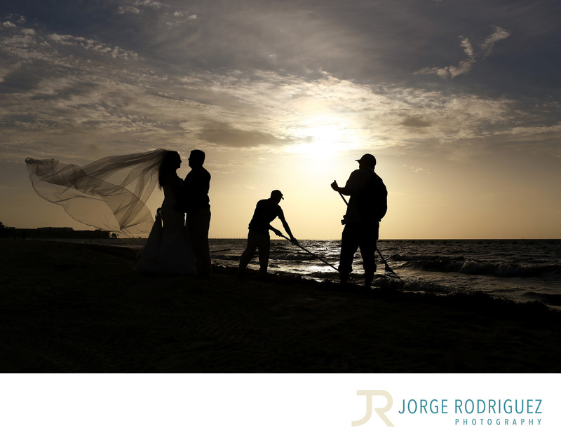 Playa del Carmen Wedding Photos