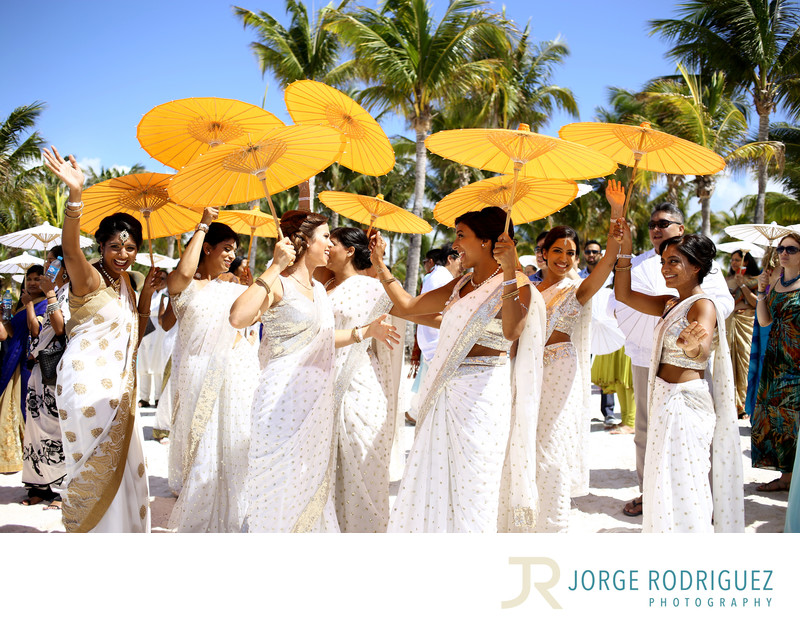 Hindu Wedding Riviera Maya Photographer