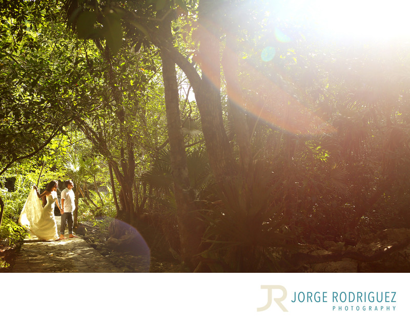 Playa Del Carmen Trash the Dress Photography