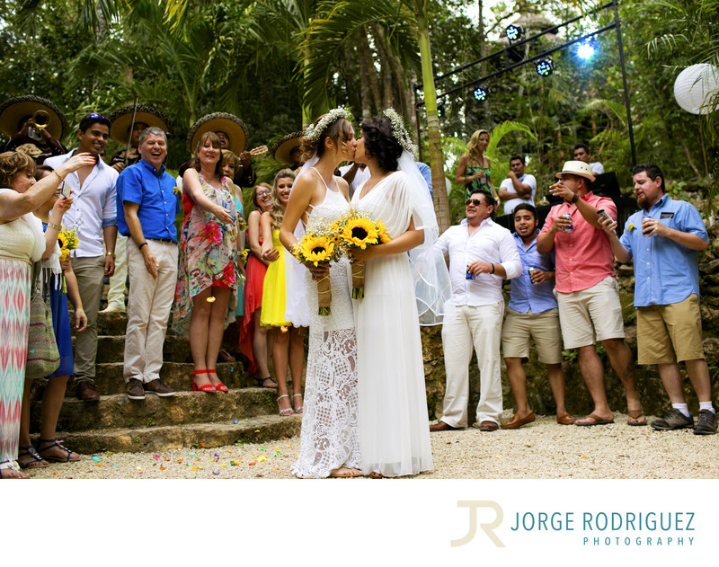 Gay-Friendly Wedding Photographers Riviera Maya