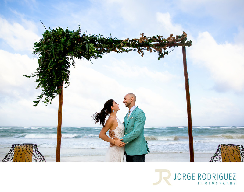 Ana y Jose Charming Hotel Spa Tulum Wedding Photographer