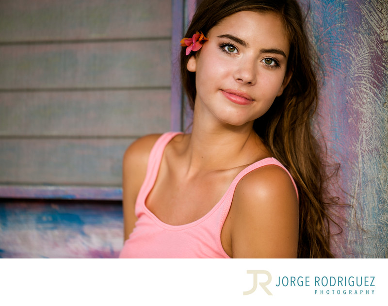 Senior Portraits in Tulum Mexico