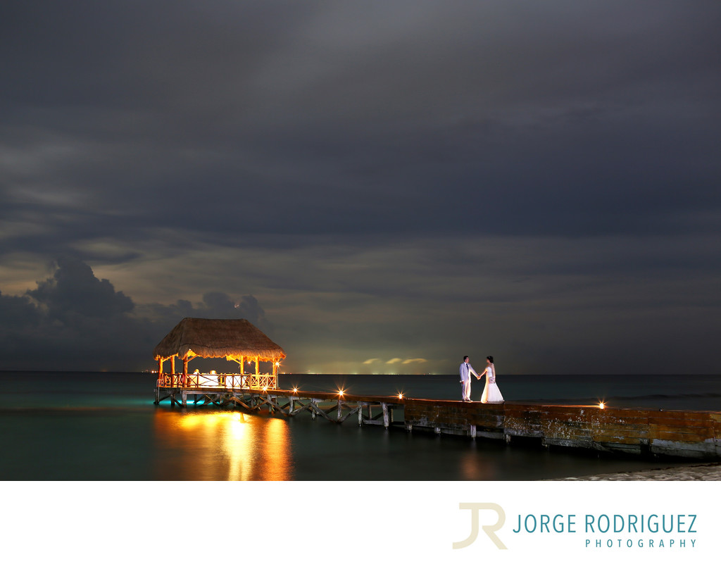 Azul Fives Resort By Karisma Pier Wedding