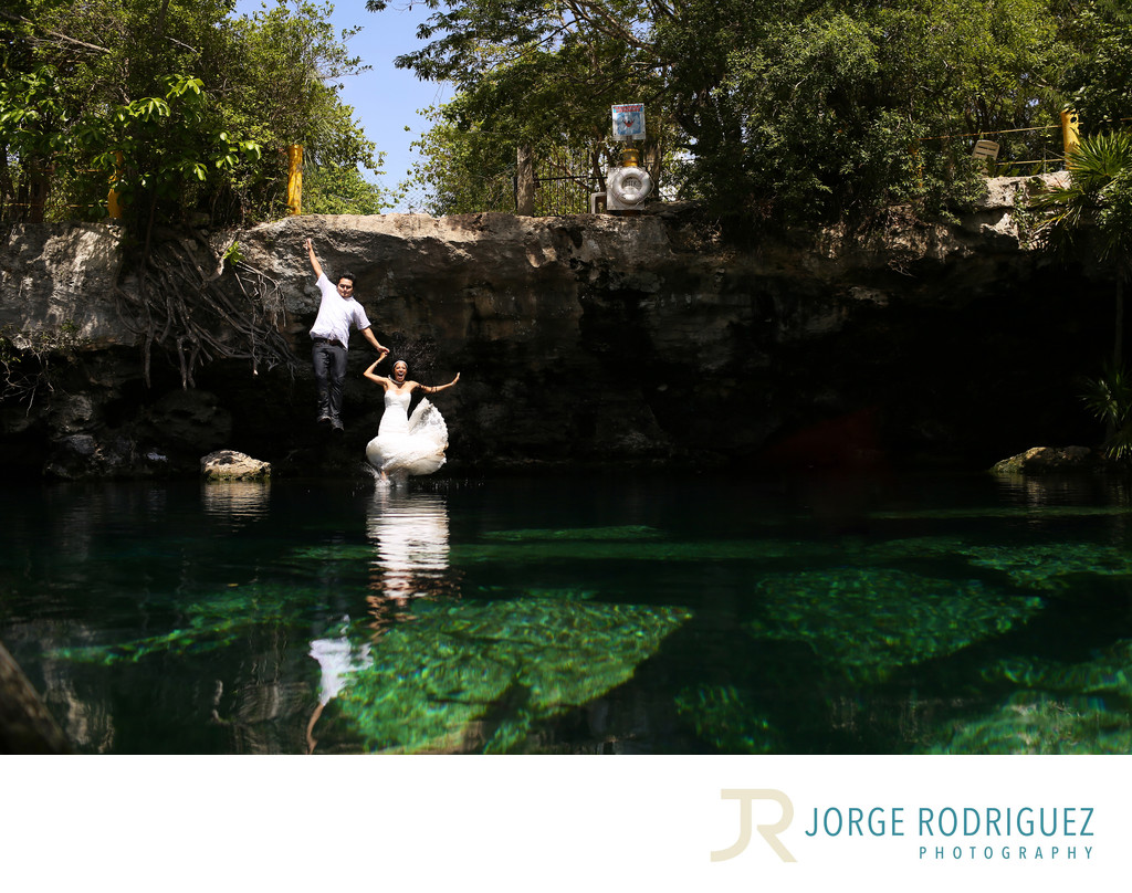 Mexico Trash the Dress Photography