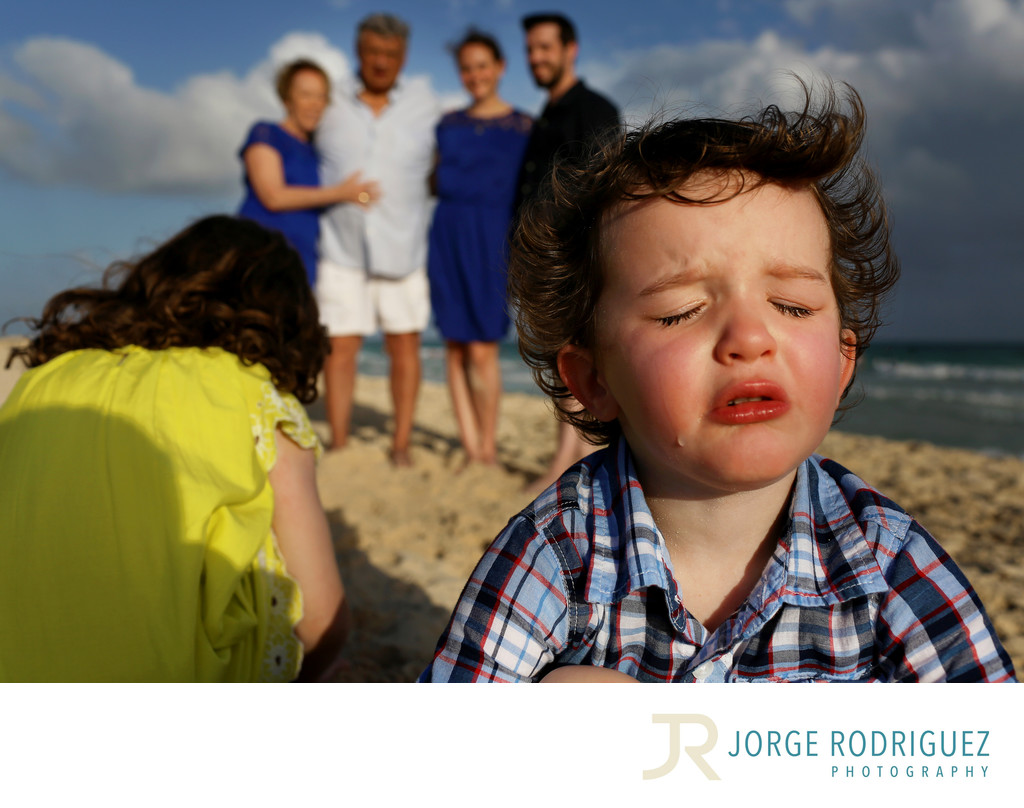 Riviera Maya Family Portrait Photographer