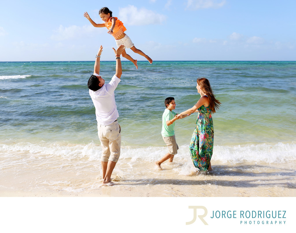 Sandos Caracol Eco Resort Family Portrait Photography