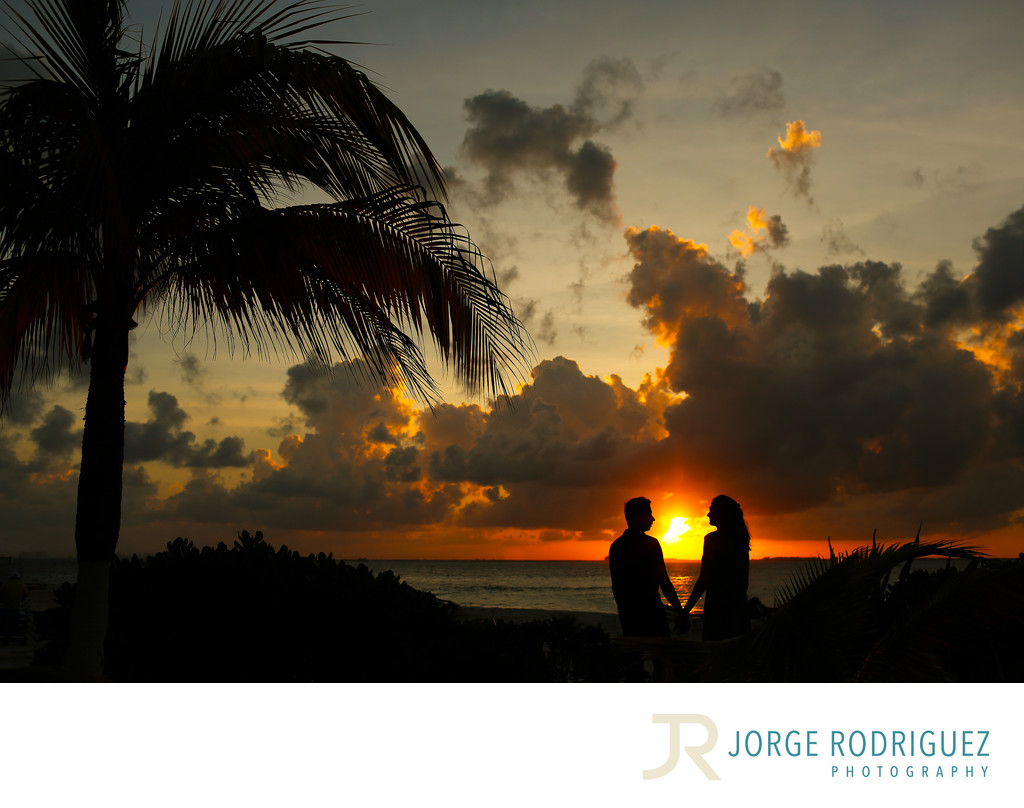 Isla Mujeres Engagement Photographer