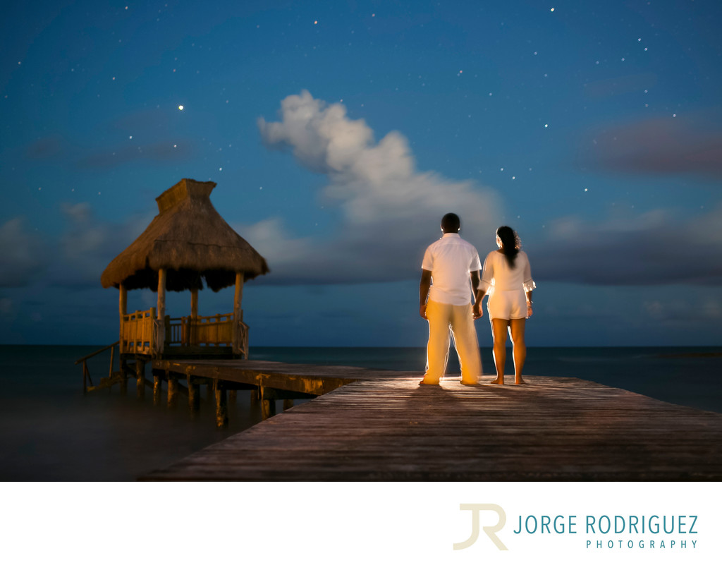 Engagement Photographer Playa del Carmen