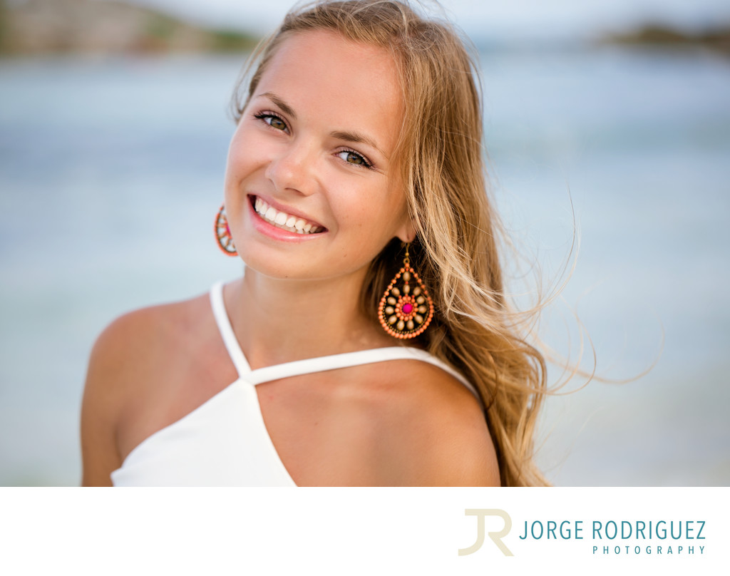 Riviera Maya Senior Photography