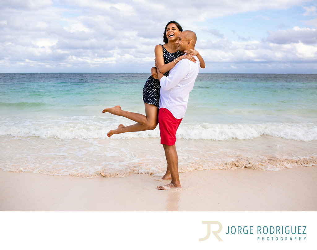 Affordable Engagement Photographer Riviera Maya