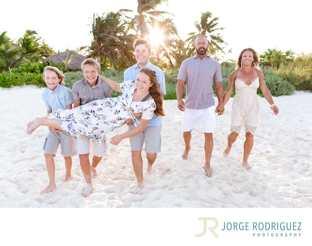 Tulum Family Portraits