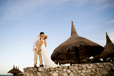 Mary & Brent Beach Wedding at Secrets Maroma Beach Riviera Cancun