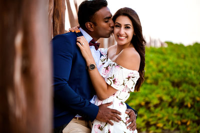Engagement Portraits at The Ritz Carlton Cancun Mexico