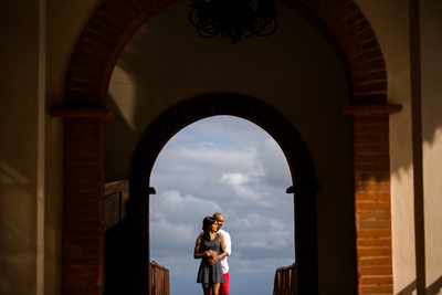 Ami & Krutin Engagement Portraits at Now Sapphire Mexico