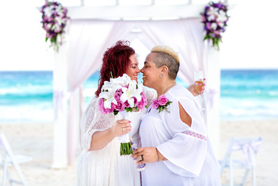 Gay Wedding Photographer Playa del Carmen