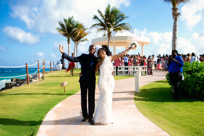 Gazebo Wedding Hyatt Ziva Cancun Mexico