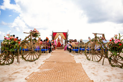 Indian Wedding in Mexico Cost Photography