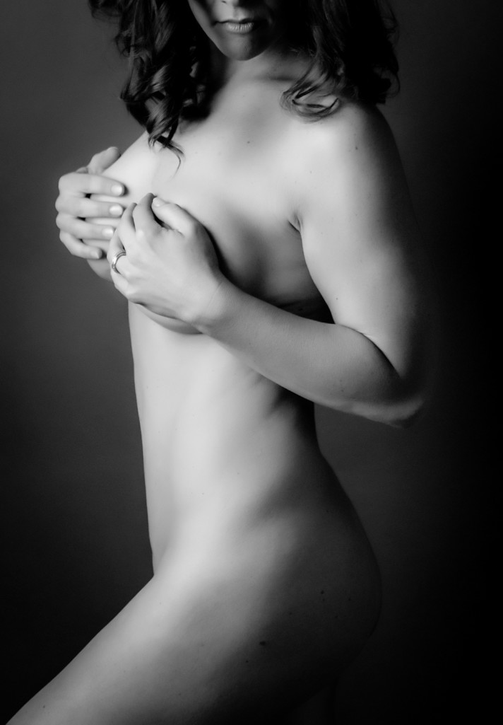 Naked boudoir photography