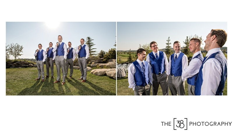 Portrait Session with a Groom and his Groomsmen