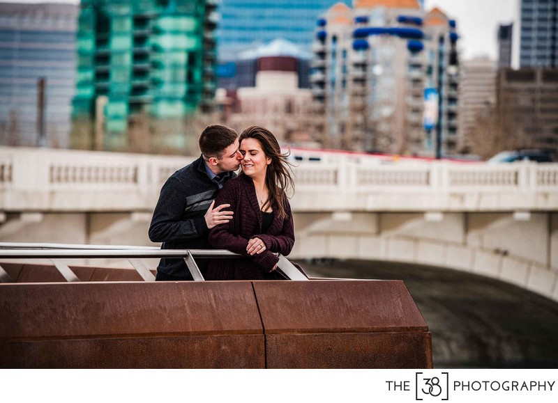 Poppy Plaza Engagement Photos