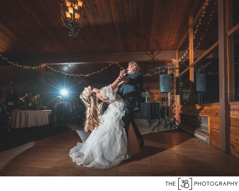 First Dance at the Fairmont Hot Springs Resort Wedding