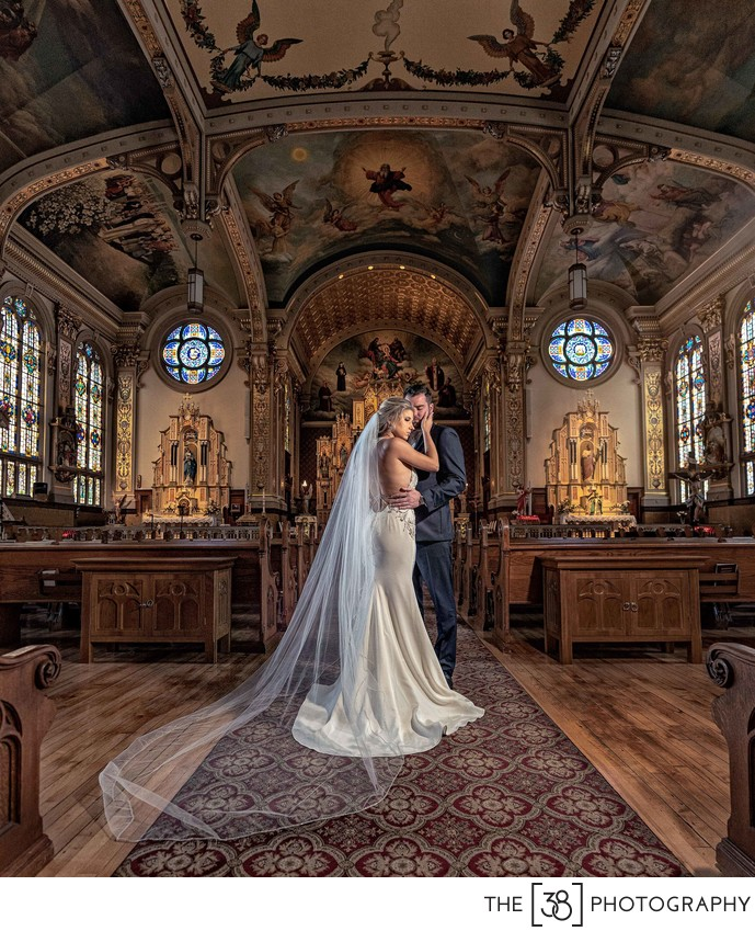 Catholic Church Wedding Photos