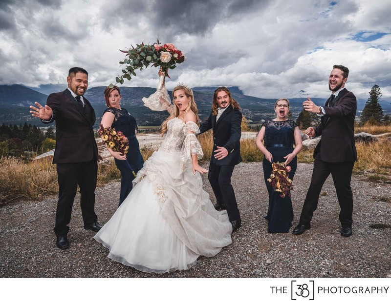 Portrait of a Bridal Party