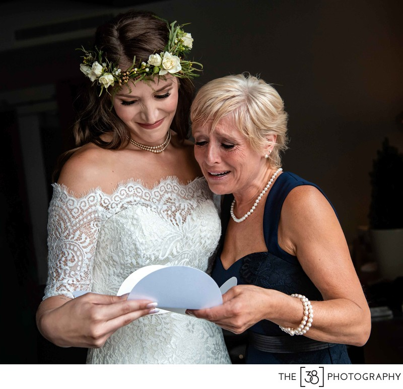 Mother of the bride special moment