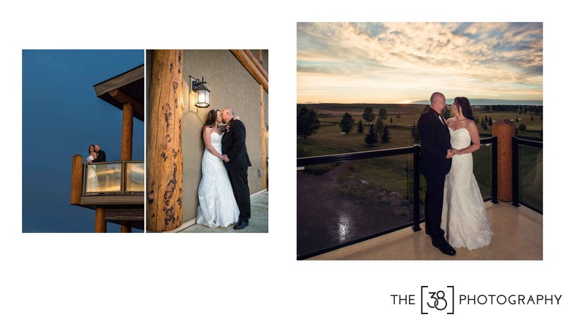 Apple Creek Golf Course - Wedding Sunset Photos