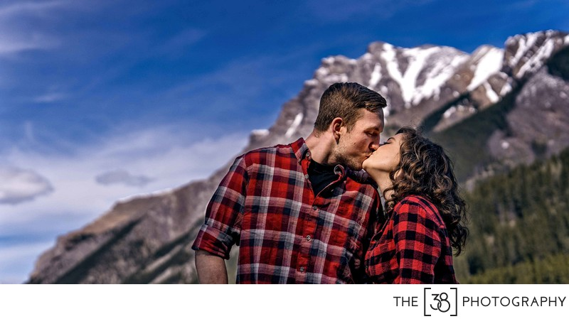 Engagement at Johnson Lake Album Kiss in the Mountains