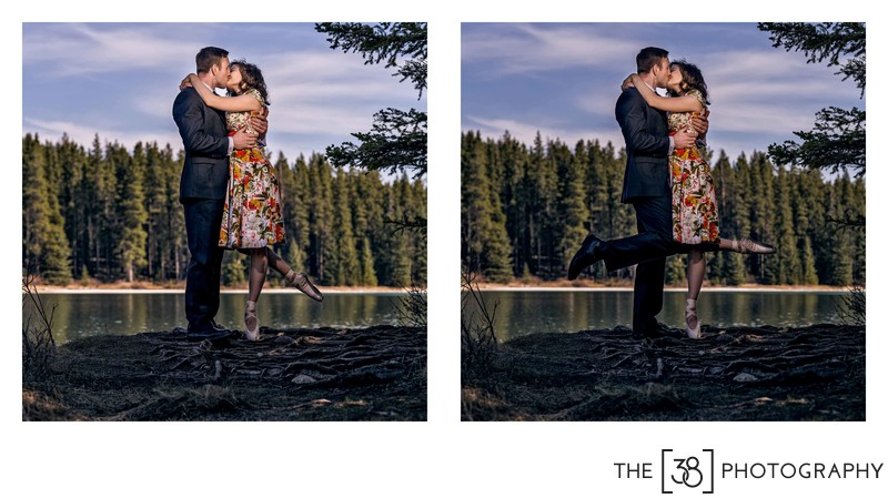 Engagement at Johnson Lake Album Ballerina Kiss