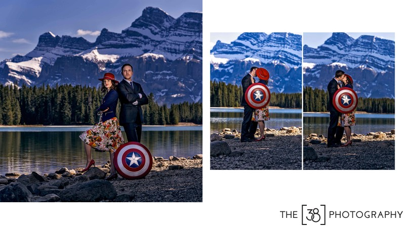 Engagement at Johnson Lake Album Captain America