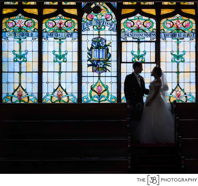 Wedding Photos at First Baptist Church