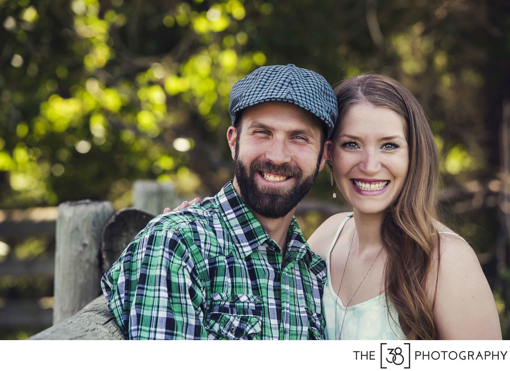 Summer Engagement Photos at Griffith Woods Park
