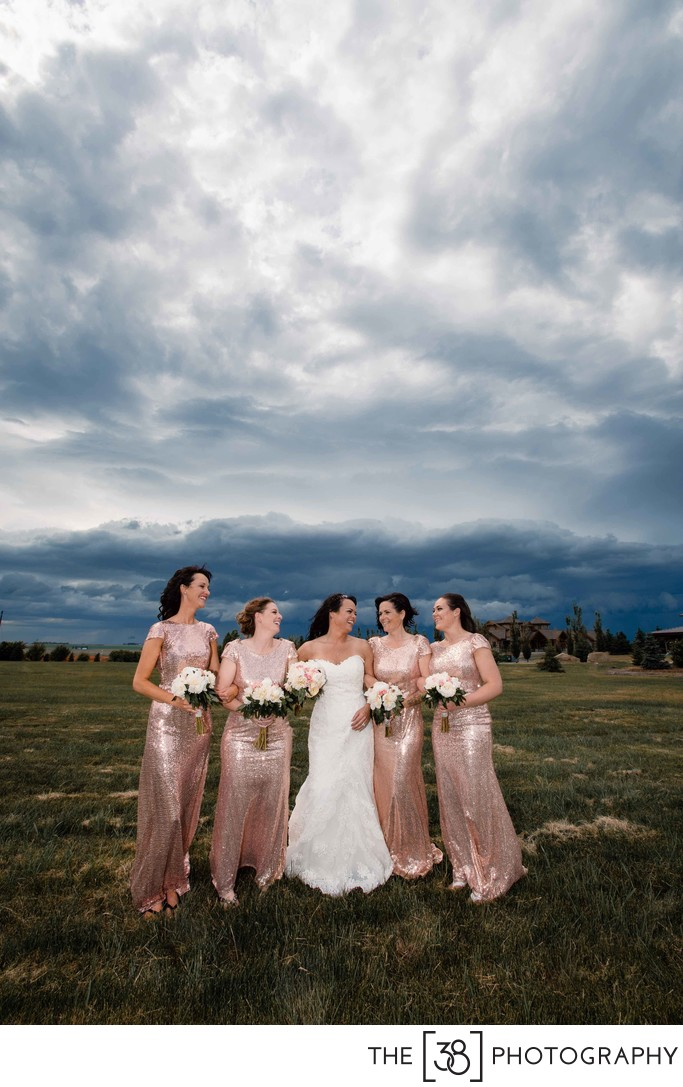 Bridal Portrait at the Golf Course