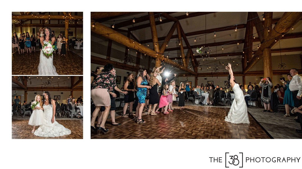 Apple Creek Golf Course - Wedding Bouquet Toss