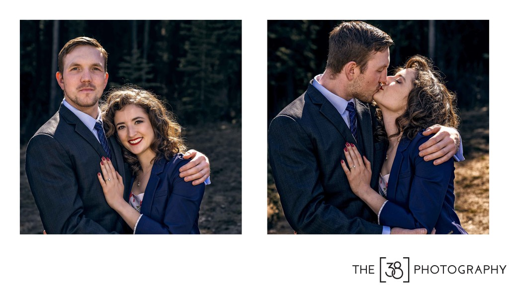Engagement at Johnson Lake Album Formal Portraits
