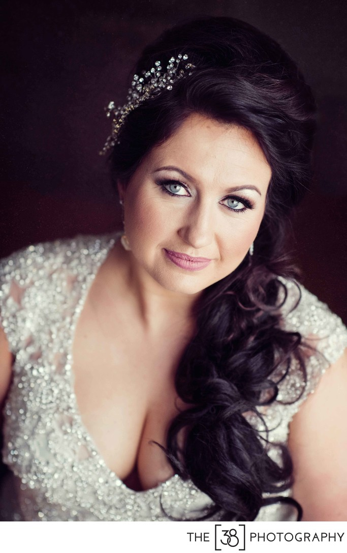 Bridal Portrait at Ardrossan Recreation Complex