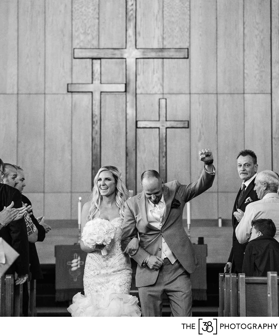 Wedding Ceremony at Gaetz Memorial United Church