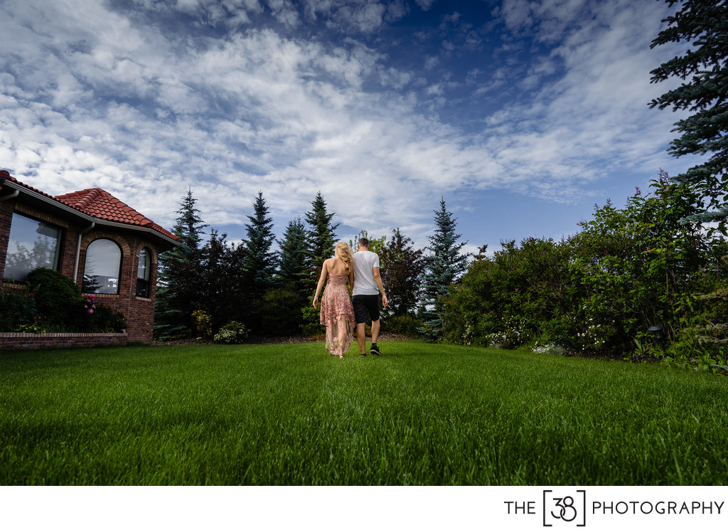 A Couple's Portrait at Their Acreage